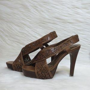 Diane Von Furstenberg | Iris | Laser Cut Heels